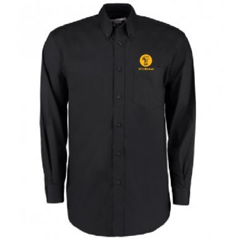 Mens Oxford Shirt - Long Sleeve (Black)