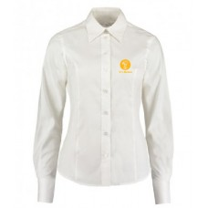 Ladies Oxford Shirt - Long Sleeve (White)