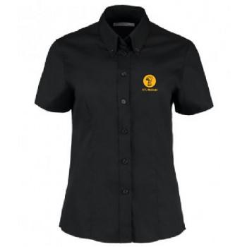 Ladies Oxford Shirt - Short Sleeve